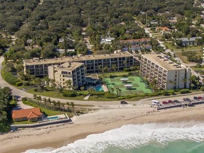 Vero Beach Condo/Townhouse For Sale: 3939 Ocean Drive #407C