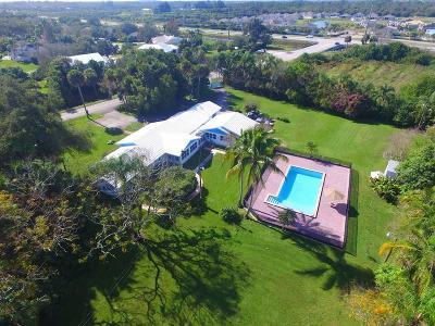 Vero Beach Single Family Home For Sale: 5600 16th Street