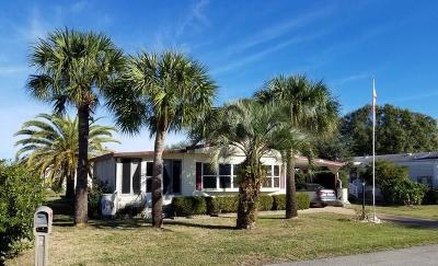 Sebastian Single Family Home For Sale: 918 Sequoia Street