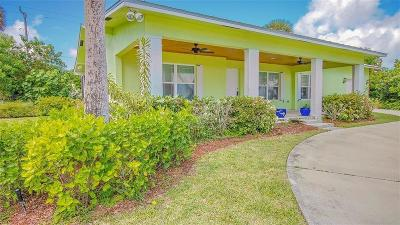 Fort Pierce Single Family Home For Sale: 4501 Indian River Drive