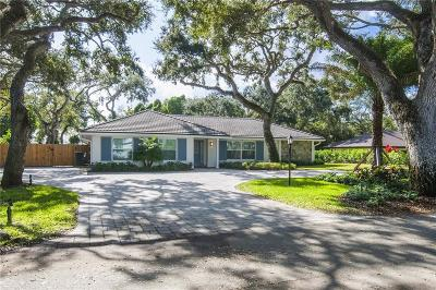 Vero Beach Single Family Home For Sale: 1491 Smugglers Cove