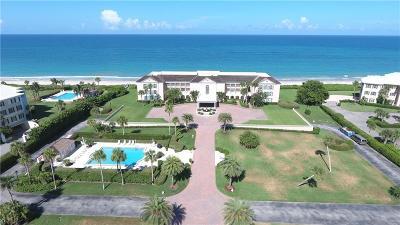 Vero Beach, Indian River Shores, Melbourne Beach, Sebastian, Palm Bay, Orchid Island, Micco, Indialantic, Satellite Beach Condo/Townhouse For Sale: 950 Beach Road #290