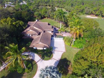 Vero Beach Single Family Home For Sale: 5885 Turnberry Lane