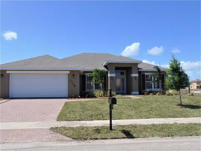 Vero Beach Single Family Home For Sale: 1328 Scarlet Oak Circle