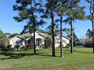 Grant Single Family Home For Sale: 6595 Indian River Boulevard