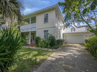 Vero Beach Single Family Home For Sale: 1428 Coral Avenue