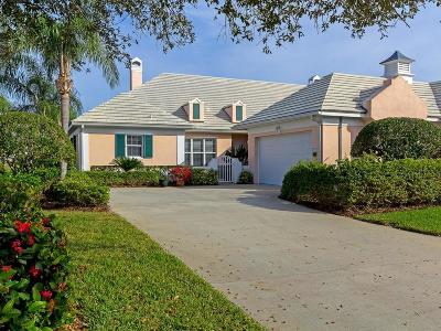 Vero Beach, Indian River Shores, Melbourne Beach, Melbourne, Sebastian, Palm Bay, Orchid Island, Micco, Indialantic, Satellite Beach Single Family Home For Sale: 4716 St Elizabeth's Terrace