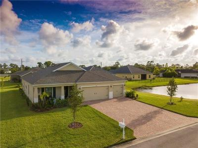 Vero Beach, Indian River Shores, Melbourne Beach, Melbourne, Sebastian, Palm Bay, Orchid Island, Micco, Indialantic, Satellite Beach Single Family Home For Sale: 5938 Brae Burn Circle