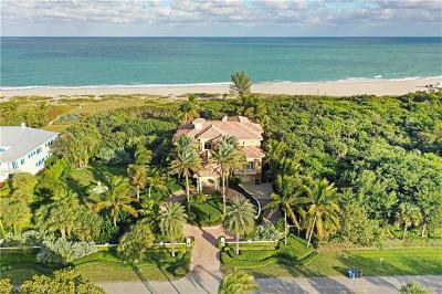Vero Beach Single Family Home For Sale: 1736 Ocean Drive