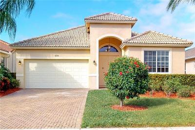 Vero Beach, Indian River Shores, Melbourne Beach, Melbourne, Sebastian, Palm Bay, Orchid Island, Micco, Indialantic, Satellite Beach Single Family Home For Sale: 679 SW Honeybell Court