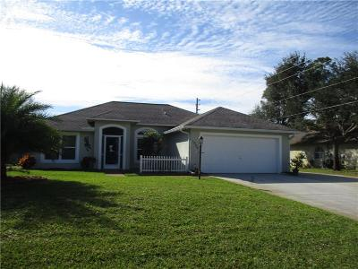 Vero Beach Single Family Home For Sale: 1735 SW 19th Place