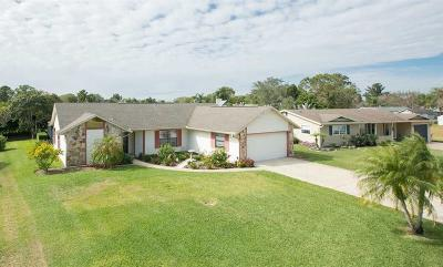 Vero Beach, Indian River Shores, Melbourne Beach, Melbourne, Sebastian, Palm Bay, Orchid Island, Micco, Indialantic, Satellite Beach Single Family Home For Sale: 856 Barber Street