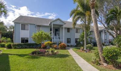 Sebastian Condo/Townhouse For Sale: 9635 Riverside Drive #4