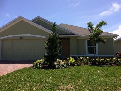 Sebastian FL Single Family Home For Sale: $259,195