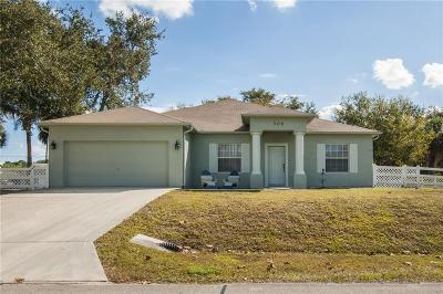 Sebastian Single Family Home For Sale: 302 Lobster Terrace