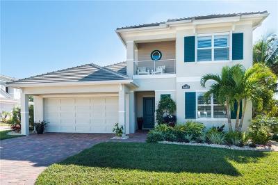 Melbourne, Melbourne Beach Single Family Home For Sale: 7697 Kiawah Way