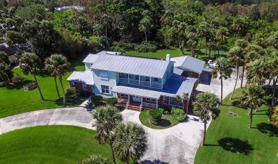 Fort Pierce Single Family Home For Sale: 2805 S Indian River Drive