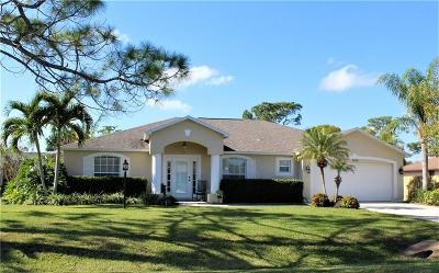 Fort Pierce Single Family Home For Sale: 5306 E Echo Pines Circle
