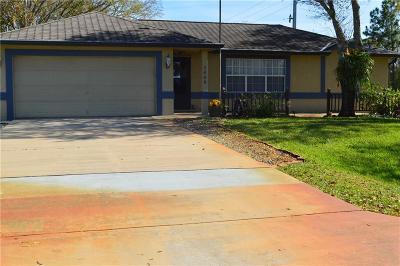 Fort Pierce Single Family Home For Sale: 5402 Killarney Avenue