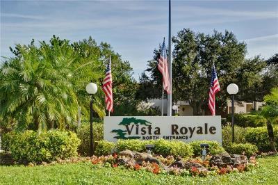 Vero Beach Condo/Townhouse For Sale: 6 Vista Palm Lane #205