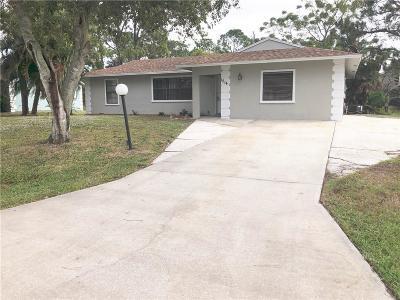 Sebastian Single Family Home For Sale: 1514 Ocean Cove Street