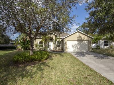 Vero Beach Single Family Home For Sale: 703 46th