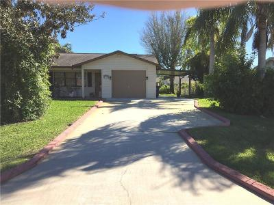 Sebastian Single Family Home For Sale: 180 Concha Drive