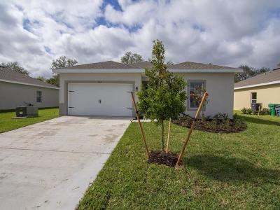 Fort Pierce Single Family Home For Sale: 5352 Oakland Lake Circle