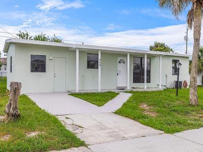 Sebastian Single Family Home For Sale: 849 Schumann Drive