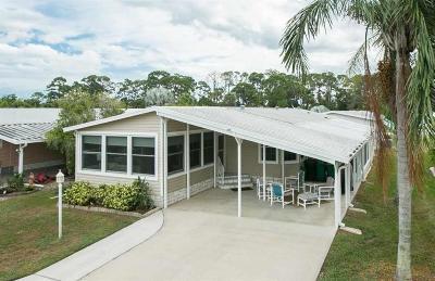 Sebastian Single Family Home For Sale: 315 Avocado Drive