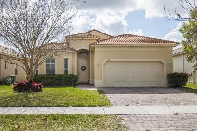 Fort Pierce Single Family Home For Sale: 6117 Spring Lake Terrace