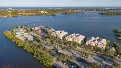 Vero Beach, Indian River Shores, Melbourne Beach, Sebastian, Palm Bay, Orchid Island, Micco, Indialantic, Satellite Beach Condo/Townhouse For Sale: 7 Royal Palm Point #1W