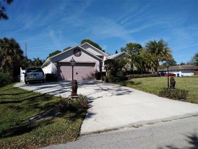 Sebastian Single Family Home For Sale: 601 Atlantus Terrace