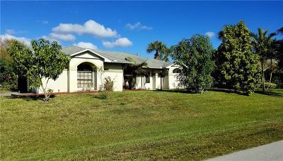 Sebastian Single Family Home For Sale: 499 Concha Drive