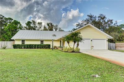 Vero Beach Single Family Home For Sale: 4290 60th Court