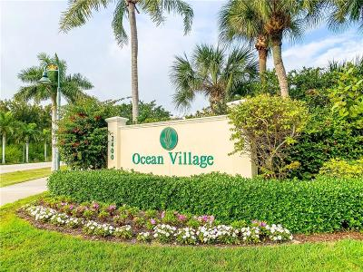 Fort Pierce Condo/Townhouse For Sale: 2400 Ocean Drive #V114