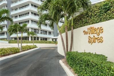 Vero Beach Condo/Townhouse For Sale: 3554 Ocean Drive #PH1-4S