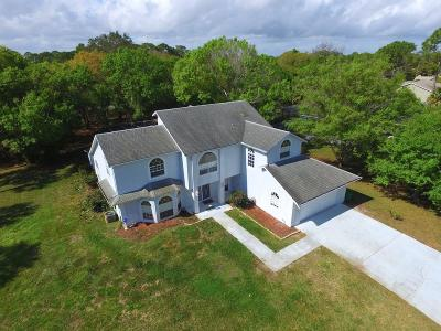 Sebastian Single Family Home For Sale: 1591 Schooner Lane