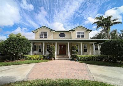 Vero Beach Single Family Home For Sale: 7220 41st Street