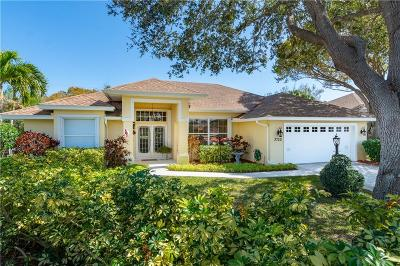 Vero Beach Single Family Home For Sale: 3720 9th Place