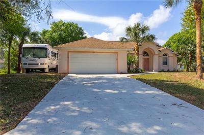 Sebastian Single Family Home For Sale: 1557 Crowberry Lane