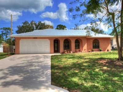 Sebastian Single Family Home For Sale: 1670 Addie Street