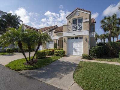 Vero Beach Condo/Townhouse For Sale: 4853 Newport Island Drive #12