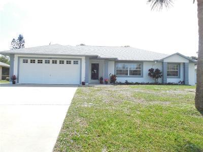 Sebastian Single Family Home For Sale: 420 Seagrass Avenue