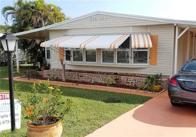 Sebastian Single Family Home For Sale: 9740 61st Terrace