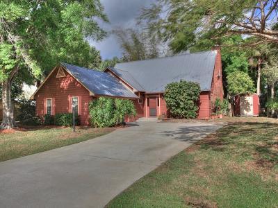 Sebastian Single Family Home For Sale: 391 Bayfront Terrace
