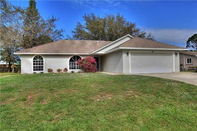 Sebastian Single Family Home For Sale: 1032 Topsail Lane