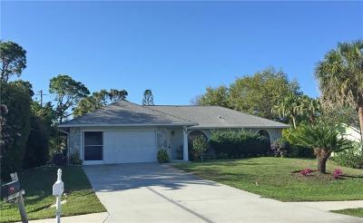 Sebastian Single Family Home For Sale: 349 Periwinkle Drive