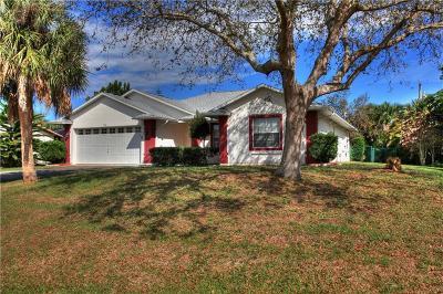 Sebastian Single Family Home For Sale: 910 Crown Street