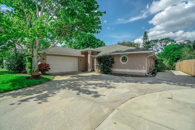Sebastian Single Family Home For Sale: 974 Claire Avenue